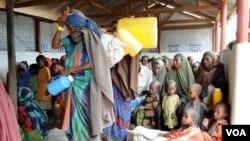 Kamp pengungsi Dadaab di Kenya (foto: dok). Kondisi kamp pengungsi terbesar di dunia ini terus memburuk.
