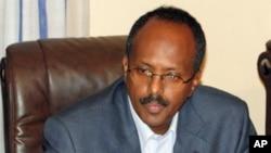 صومالیہ کے نئے وزیراعظم محمدعبدالائی محمد۔