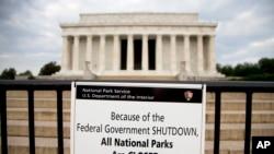 由于政府关门 所有美国国家公园关闭