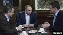 Tổng thống Nga Vladimir Putin trong cuộc phỏng vấn đăng trên báo Bild của Đức tại Sochi, ngày 5/1/2016.
