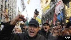 Протест по поводу законопроекта по повышение пенсионного возраста