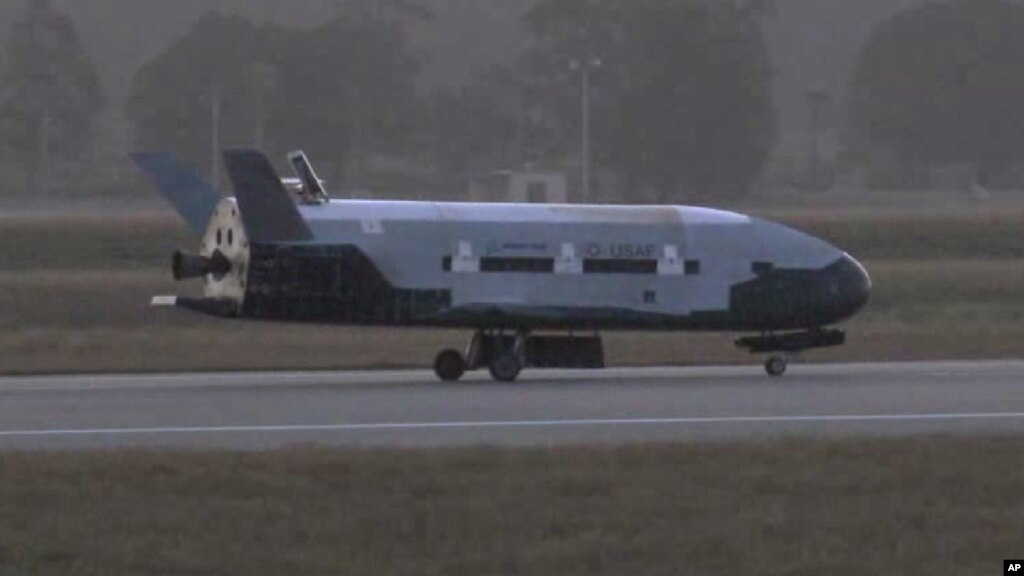 US Air Force Lands Robotic Space Plane in California