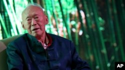 FILE - Singapore's former prime minister, Lee Kuan Yew.