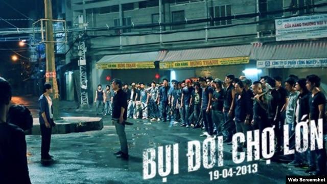 Poster phim Bụi đời Chợ Lớn (Ảnh: facebook.com/buidoicholon)