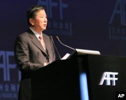 中国证监会主席尚福林称香港角色不可或缺