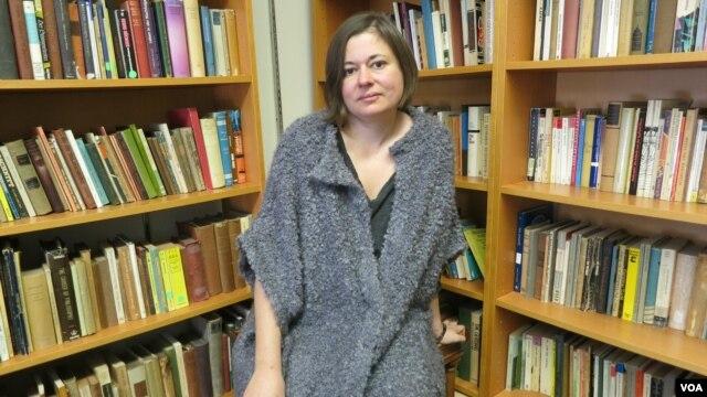 Анна Глазова в Университете Ратгерс