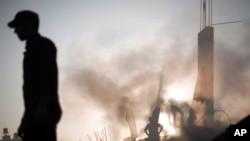Kuća u Gazi uništena tokom napada preko noći