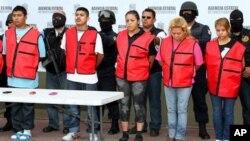 Maria Jiminez alias La Tosca, salah satu pemimpim kartel Zetas ditangkap pihak berwajib di Monterey, Mexico (Foto: dok). Gembong Zetas lainnya, El Loco, berhasil ditangkap di negarabagian Nuevo Leon, Jum'at (18/5).