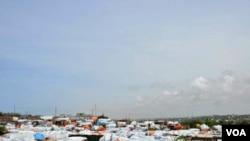 Somalidə çadır düşərgəsi