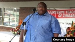 Munyori mukuru weProgressive Teachers Union of Zimbabwe VaRaymond Majongwe. (Photo PTUZ)