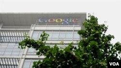 Kantor pusat Google di Beijing.