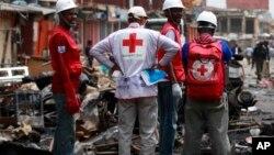 Jami'an kungiyar Red Cross
