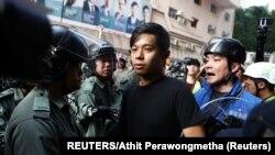 Nemire su zabeležile desetine medija i građana svojim mobilnim telefonima. Privedeno je nekoliko osoba.