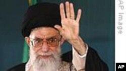 """哈梅内伊:西方媒体试图""""毒化""""伊朗"""