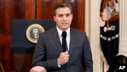 Jim Acosta, wartawan CNN yang kartu persnya untuk meliput Gedung Putih dicabut (foto: dok).