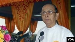 Presiden Birma, Thein Sein. Pemerintah Birma diminta menjelaskan nasib demonstran anti pemerintah yang ditangkap tahun 2007.