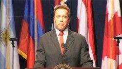 Schwarzenegger is Back as Policy Analyst