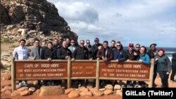 Зустріч працівників компанії GitLab у Кейптауні 2018 року