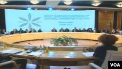 Samitu šefova država i vlada zemalja učesnica Procesa saradnje u Jugoistočnoj Evropi SEECP u Tirani, 26. maja 2015.