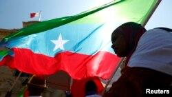Komunitas Oromo di Ethiopia saat melakukan aksi protes terhadap rejim Ethiopian di Malta, 16 Juni 2014 (Foto: dok).