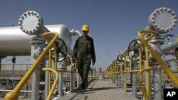 伊朗的一个石油设施