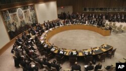 지난 1월 22일 유엔 안전보장이사회에서 북한의 장거리 로켓 발사에 대한 대응 조치를 논의했다.