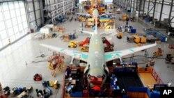 Xưởng lắp ráp phi cơ Airbus A320 ở miền bắc nước Đức