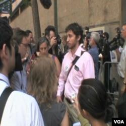 Isaac Luria kaže da njegova Jevrejska organizacija Jay Street podržava izgradnju Islamskog centra u New Yorku