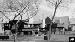 建筑设计师弗兰克.劳埃德.赖特在伊利诺斯州的住宅
