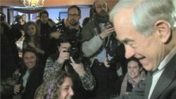 Voters React at Ron Paul Campaign Stop