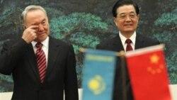 روسای جمهوری چين و قزاقستان ملاقات کردند