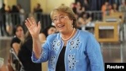 Bà Michelle Bachelet thắng lợi lớn trong cuộc bầu cử tổng thống Chile