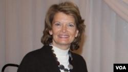 美国国会共和党参议员丽莎.穆考斯基