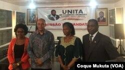 Adalberto da Costa Júnior, na apresentação da candidatura à liderança da UNITA