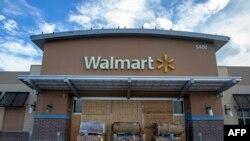 Một cửa hàng Walmart ở bang North Carolina