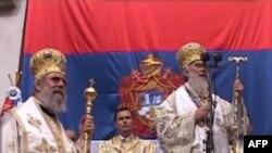 Kosovë: Shugurohet në Pejë Kreu i Kishës Ortodokse serbe, Patriarku Irinej