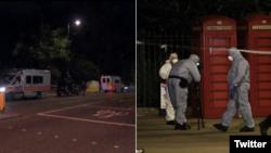 ساعتی بعد از حمله، واحد ضد تروریسم لندن از این حادثه تحقیق کرد و احتمال تروریستی بودن آن را رد کرد.