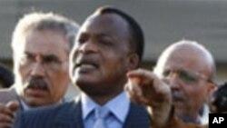 Denis Sassou Nguesso, le président de la R♪0publique du Congo.