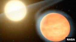 Una ilustración de la NASA muestra como luce el planeta rico en carbono que por lo general adquiere la forma de un diamante y podrían poseer gran cantidad de diamantes en su interior.