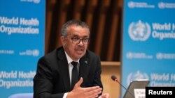 Tổng giám đốc Tổ chức Y tế Thế giới (WHO) Tedros Adhanom Gebreyesus.