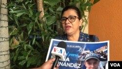 Familiares de los presos por protestar contra el gobierno de Daniel Ortega reclaman su liberación.