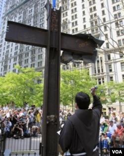 世贸中心的十字架