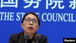 Представниця Національної комісії з охорони здоров'я Китаю Жао Ягуй