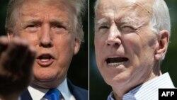 特朗普和總統參選人前副總統拜登