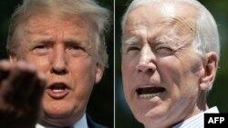 သမၼတ Trump နဲ႔ ဒုသမၼတေဟာင္း Joe Biden