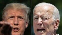 သမၼတ Trump နဲ႔ ဒုသမၼတေဟာင္း Joe Biden အၿပိဳင္မဲဆြယ္