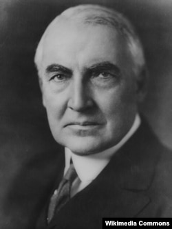 Harding was known to drink alcohol in the White House, even though the 18th Amendment prohibited it. He also enjoyed playing poker and once gambled away a set of White House dishes.