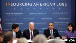 El presidente Obama inició el año 2012 con su agenda efocada en los temas economícos y solicitó poderes al Congreso para fusionar seis agencias de comercio en una sola.