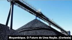 Minas de Carvão em Tete, Moçambique