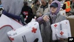 Donasi lewat aplikasi web membantu berbagai lembaga amal dan upaya pemulihan bencana seperti Palang Merah. (Foto: Dok)